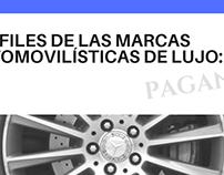 Perfiles de las marcas automovilísticas de lujo: Pagani