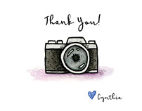 Thank You Card for Cynthia Viola Photography