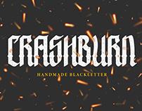 FREEBIES   CRASHBURN BLACKLETTER FONT