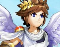 NINTENDO - Kid Icarus Uprising Display Advertising