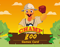 Champ Zoo Games Card App