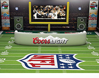 Montaje Estadio Virtual - Coors Light