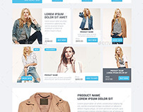 Slade E-commerce Web Elements UI Design