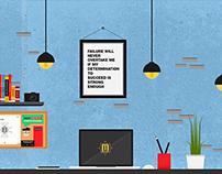 Home-Office Illustration