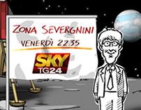 SkyTG24 - ZONA SEVERGNINI - Promo