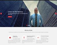 Web Site Portfólio Juliano Barbosa
