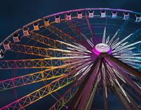 Ferris Wheel in Atlanta