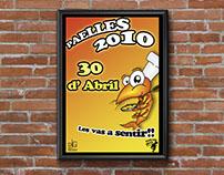 Diseño y Cartelería para las Paellas de la EPSG 2010