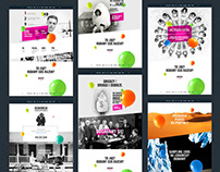 Events Agency website