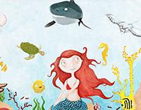 Illustration for children - Character design, Books,...