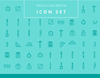 Product Description 25 Icons Set