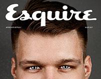 Esquire man portrait