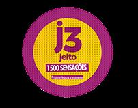 J3 jeito - condom campaign materials