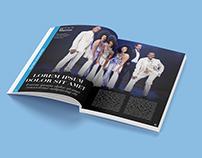 Layout magazine spettacoli teatrali