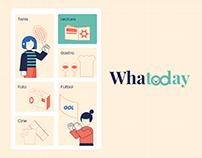 WhaToday, una app para hacer planes