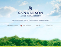 Brand Experience for Sanderson Asset Management