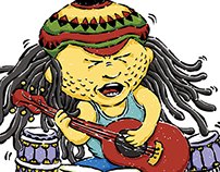 Illustration - Soulful Singer