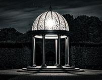 Illumination Black and White Royal Gardens