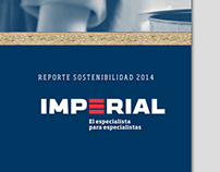 Reporte de Sostenibilidad Imperial, 2014