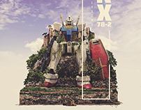 Gundam RX Fan Art