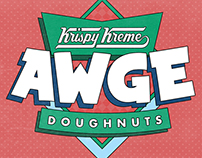 AWGE x Krispy Kreme Collaboration for Selfridges