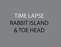 Rabbit Island & Toe Head Timelapse