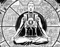"Sci-fi Samsara: ""Behälter"" artbook entry"