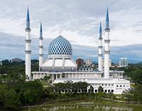 马来西亚蓝色清真寺