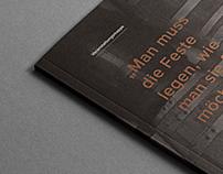 Fuchsjagd Brauhaus – Editorial Design