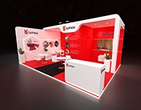 Synthesia exhibition stand