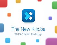 Klix.ba 2015 Redesign