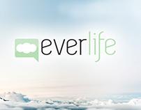 Creación del logo y tarjeta de Everlife