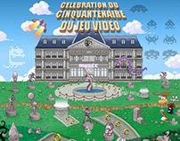 Célébration du cinquantenaire du jeu vidéo.