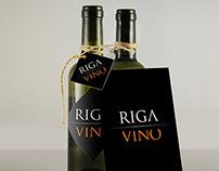 Huisstijl + website + cataloog Riga Vino