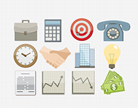 Business icons/illustrations