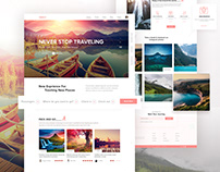 Travely-Landing Page