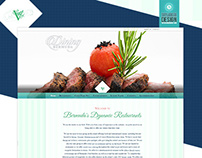 Dining Bermuda: Website Design