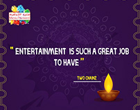 Menutainment (Good morning & Quotes posts)