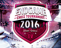 Endgame Chess Tournament - Flyer Template