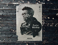 Free Poster Mockup | PSD