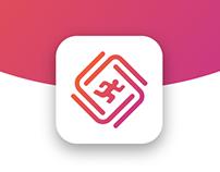 Identidade visual do App Logo Alí