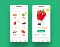 Shopping app | Concept