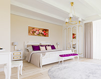 French-style Bedroom / Interior Design