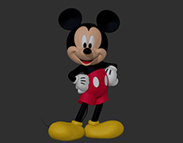 New Foundation CG Mickey Mouse - Concept Model