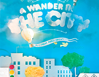 A Wander In The City Flyer Template