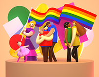 Pride Month Illustrations