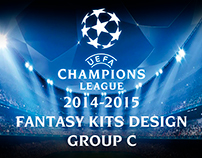 UEFA Champions league Fantasy kits design C