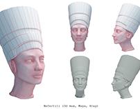 Nefertiti vray