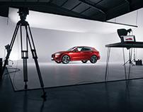 Automotive Studio Photography 3D scene