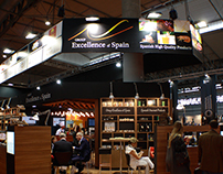 STAND EXCELLENCE OF SPAIN - ALIMENTARIA 2016